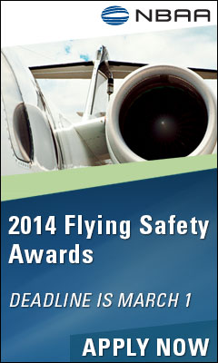 NBAA Flying Safety Awards