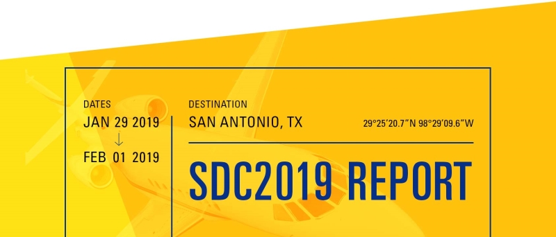 SDC2019 Conference Report