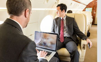 Special Report: Business Aircraft Passengers Demand Connectivity During Flight