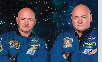 Astronauts Mark and Scott Kelly Share Insights at NBAA-BACE