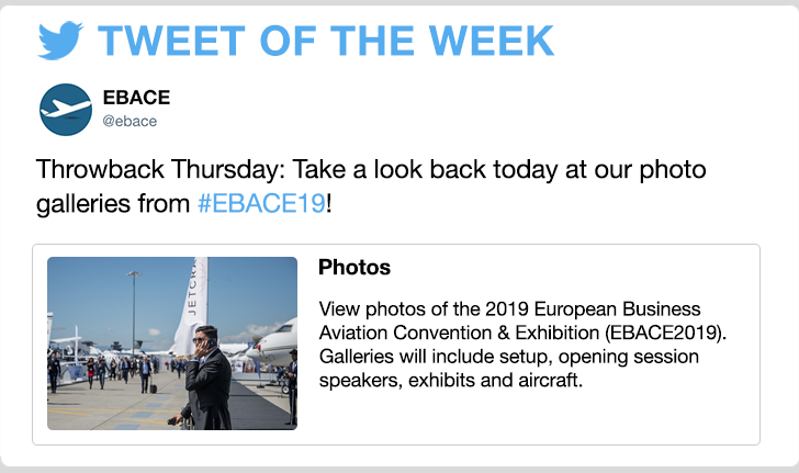 @ebace - Throwback Thursday: Take a look back today at our photo galleries from #EBACE19!