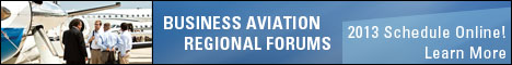 2013 Business Aviation Regional Forums