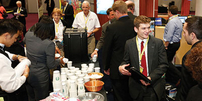 Join NBAA for Coffee, Networking, Prizes and More