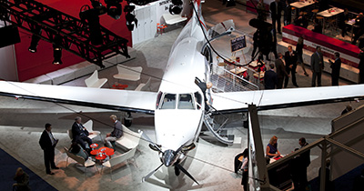 NBAA's Convention to Feature First-Ever Indoor Aircraft Display