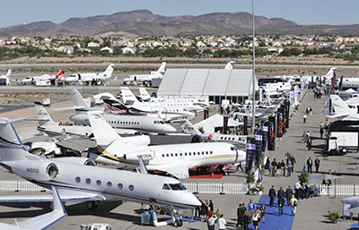 Static Display of Aircraft Sold Out for NBAA2013