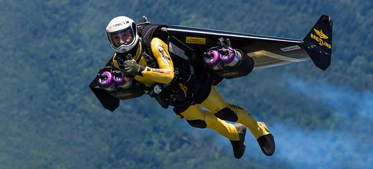 Jetman Yves Rossy to Inspire Attendees at NBAA-BACE