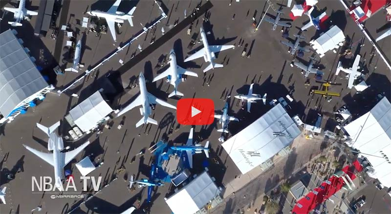 Video: Future-Focused NBAA-BACE Captures Industry's Excitement