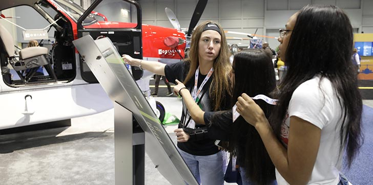 Students to Hear From FAA Administrator, Aviation Futurist at NBAA-BACE Career Day