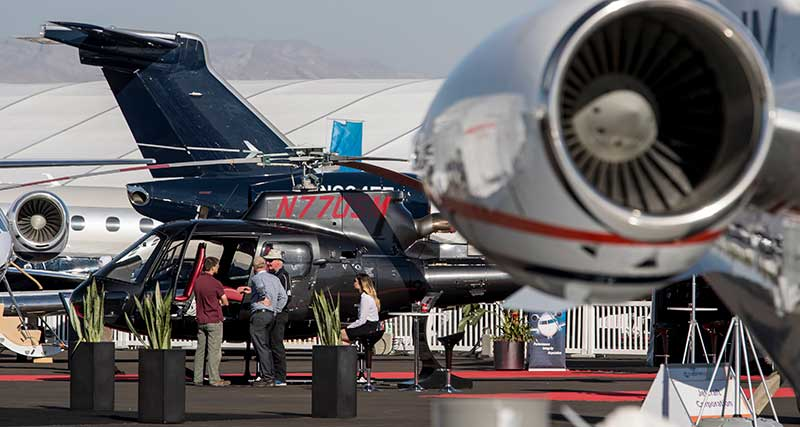 NBAA-BACE Offers a World View of Business Aircraft