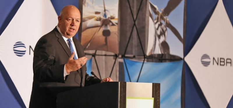 NBAA Pleased to Welcome FAA Administrator Dickson to Opening Session