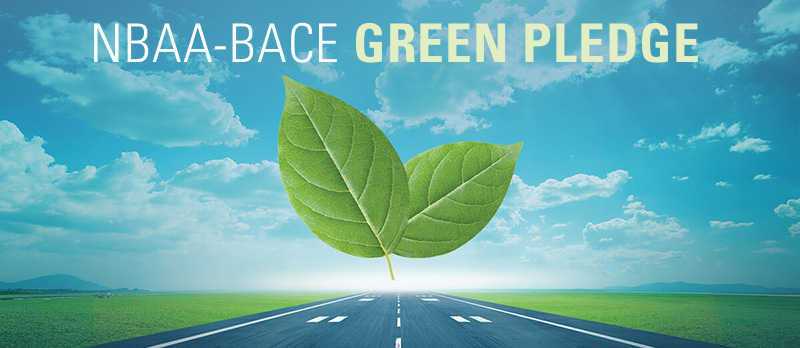 New Exhibitor 'Green Pledge' Puts Sustainability Front and Center at NBAA-BACE