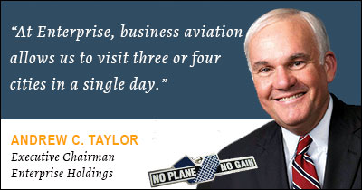 Enterprise Holdings Executive Chairman, Industry Advocate Andy Taylor to Keynote NBAA2014