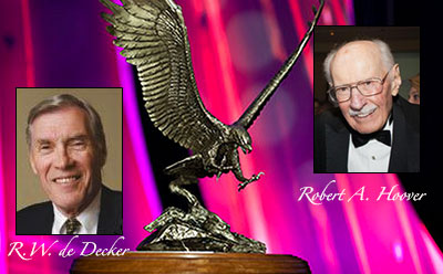 NBAA to Honor Bob Hoover, Bill de Decker at 2014 Convention