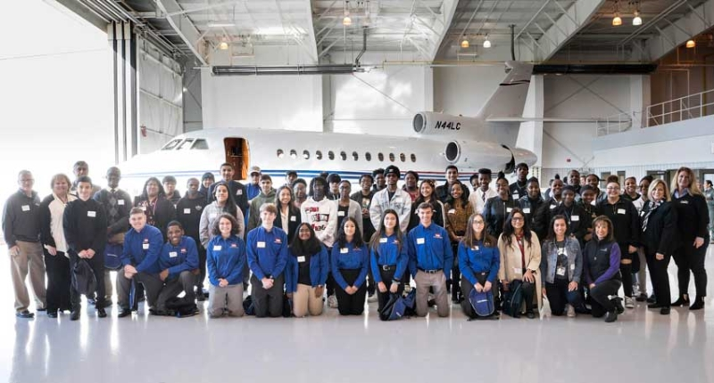 Schedulers and Dispatchers Pre-Conference Event Showcases Aviation Careers for NC Students